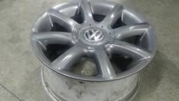 Roda aro 15 palitada grafite VW Kombi 5X112 jogo usado