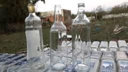 Garrafas para cachaça ou vodka