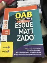 OAB esquematizado - Saraiva 2018