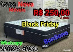 Cama Box (ACEITO CARTÃO)