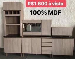 Sua cozinha nova 100% mdf a pronta entrega