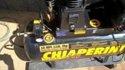 Compressor de ar Chiaperini linha 140 110 litros 2 cv