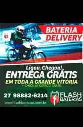 Baterias das melhores marcas e de grande durabilidade