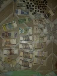 Vendo cédulas e moedas antigas
