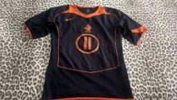 1f08ce058 Linda Camisa Oficial da Seleção Da Holandesa de futebol do craque Robben #11  - preparada