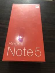 Xiaomi redmi note 5 lacrado gold 64gb
