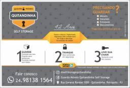 Título do anúncio: Guarda Móveis Quitandinha Self Storage