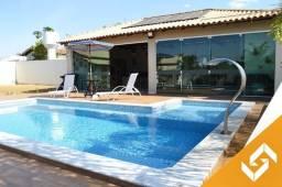 Maravilhosa casa, c/ 4 suítes, piscina e mesa de sinuca em Caldas Novas. Cód. 1015