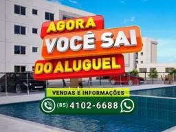 Documentação grátis | Apartamento de 2 quartos no Maracanaú | Forte Versalhes mrv
