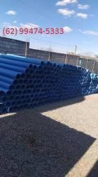Tubos para irrigação e poço artesiano.