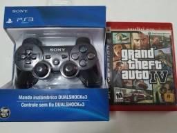 Controle de PS3 + GTA4