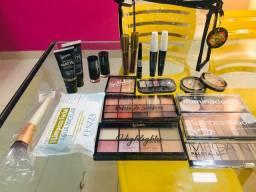 Kit 35 produtos maquiagem variadas atacado