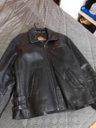 Jaqueta de couro