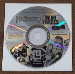 Dark Forces e Full Throttle - CD-ROM