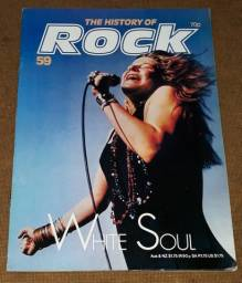 The History of Rock n. 59 - Revista Janis Joplin Joe Cocker