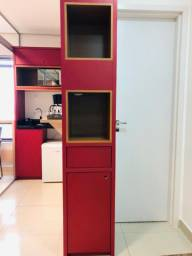 Armário para copa/cozinha com dois nichos para cafeteiras elétricas