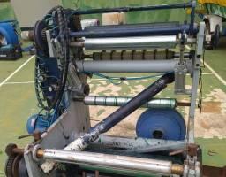 Rebobinadeira de papel conjunto de impressão