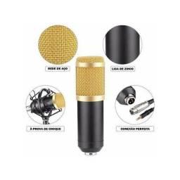 Microfone Estúdio Profissional Condensador Youtuber Andowl 7451