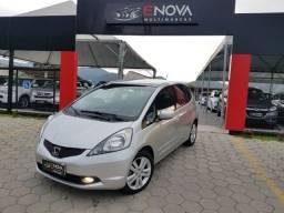 Honda Fit EXL 1.5 Automático cambio Borboleta Couro Rodas 16 Impecavel