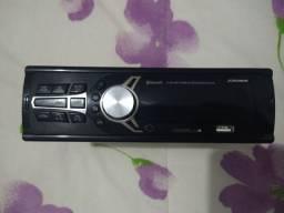 Rádio FM com Bluetooth USB e cartão de memória