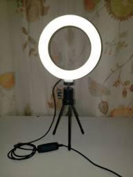 Ring Light para o seu Setup de vídeos
