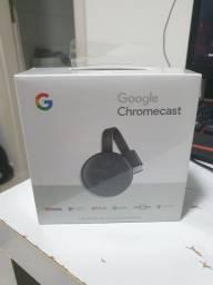 Título do anúncio: Google chromecast HDMI, Full HD 1080p, NETFLIX, lacrado na caixa