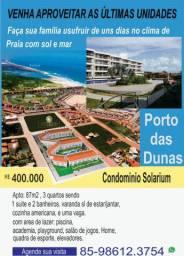 Apartamento Condomínio Solarium - Porto das Dunas