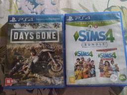 Vendo 2 jogos de PS4