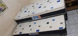 Cama Box Solteiro usada em ótimas condições