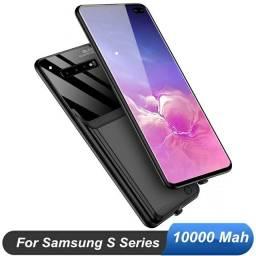 Capa carregador Samsung S9 - 10000mah - nova