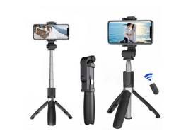 Bastão Selfie Tripé Bluetooth C/ Controle p/ Celular e Câmera