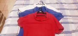 Título do anúncio: 03 blusa polo original tem.M por 25