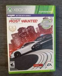 Título do anúncio: Jogo nerd for speed most wanted Xbox 360