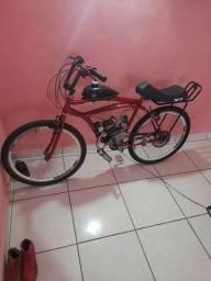 Título do anúncio: Bicicleta com moto