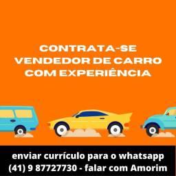 Título do anúncio: Contrata-se Vendedor de Carros com experiência