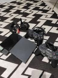Título do anúncio: Playstation 2 - Usado