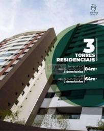 Título do anúncio: Apartamento à venda, 68 m² por R$ 382.446,67 - Vila Nogueira - Botucatu/SP