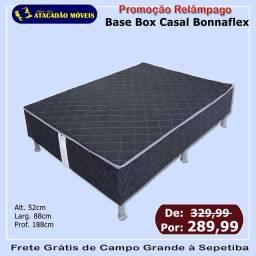 Título do anúncio: Base Box de casal Bonnaflex PROMOÇÃO