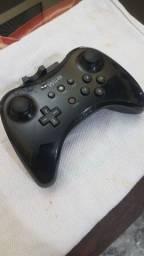 Controle Wii U black piano original Nintendo