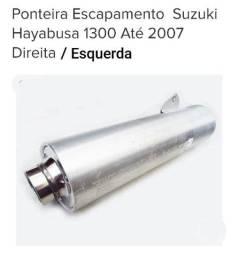 Escapamento Suzuki Hayabusa