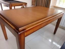 Mesa bilhar/jantar/cadeiras