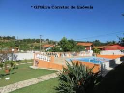 Chácara 1.050 m2 Condominio Residencial Casa e Píscina ampla Ref. 419 Silva Corretor