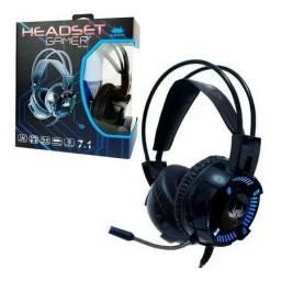 Headset gamer rbg knup