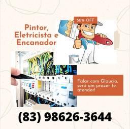 Eletricista, Encanador e Pintor