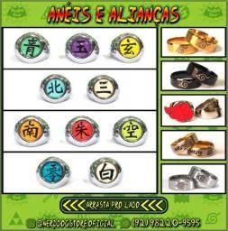 Título do anúncio: Anéis e Alianças (Naruto) ? NerdDog Store