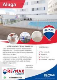 Aluga-se apartamento novo no bairro Morada do Sol condomínio Piazza Navona