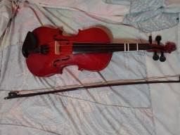 Título do anúncio: Vendo esse violino ? nunca usado