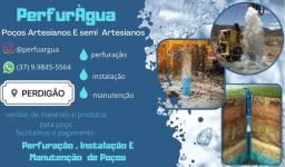 Título do anúncio: Poço artesiano / poço semi artesiano / poço residencial / poço fazenda !