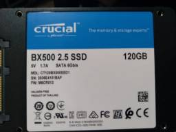 Título do anúncio: SSD Crucial BX500, 120GB, SATA, Leitura 540MB/s, Gravação 500MB/s