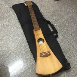 Violão Martin Backpacker Aço Com Capa ( Elétrico )